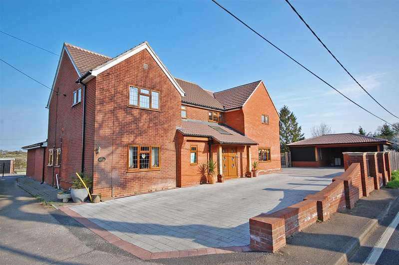 4 Bedrooms Detached House for sale in Witham Road, Black Notley, Braintree