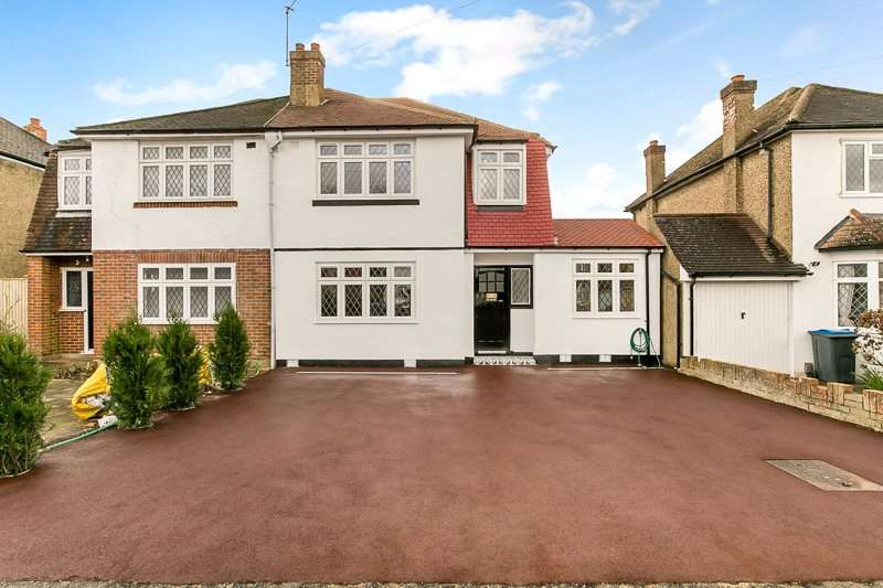 3 Bedrooms Semi Detached House for sale in Tollers Lane, COULSDON, Surrey, CR5