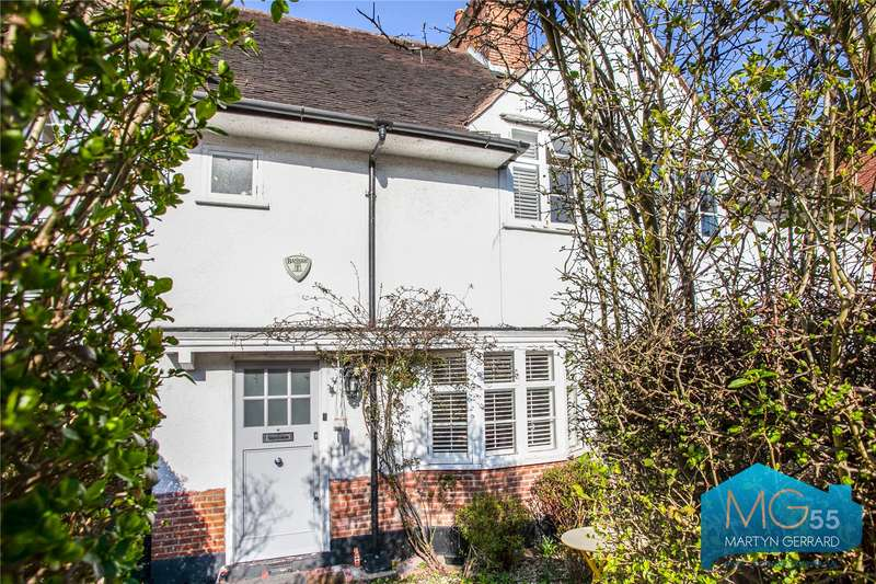 3 Bedrooms Terraced House for sale in Willifield Way, Hampstead Garden Suburb, London, NW11