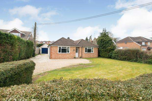 4 Bedrooms Bungalow for sale in Kempshott, Basingstoke, Hampshire