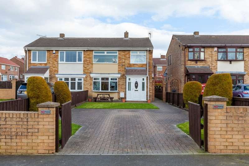 3 Bedrooms Semi Detached House for sale in Lumsden Square, Murton, Tyne and Wear, SR7