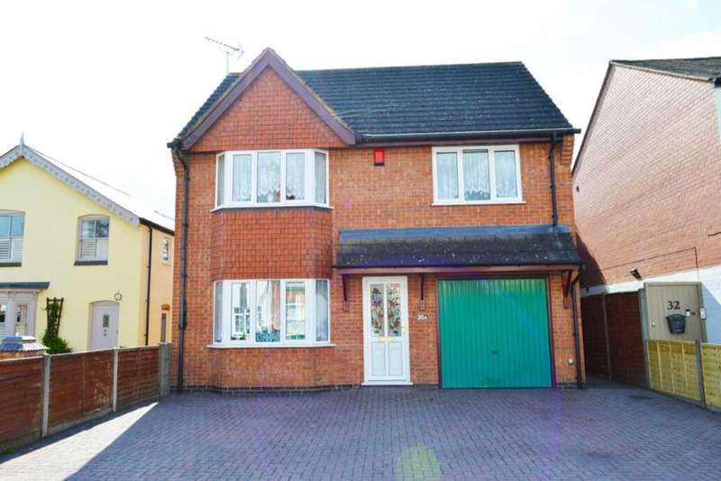 4 Bedrooms Detached House for sale in Auburn Road, Blaby, Leicester, LE8