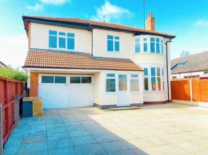 5 Bedrooms Detached House for sale in Blaby Road, Enderby, Leicester, Leicestershire