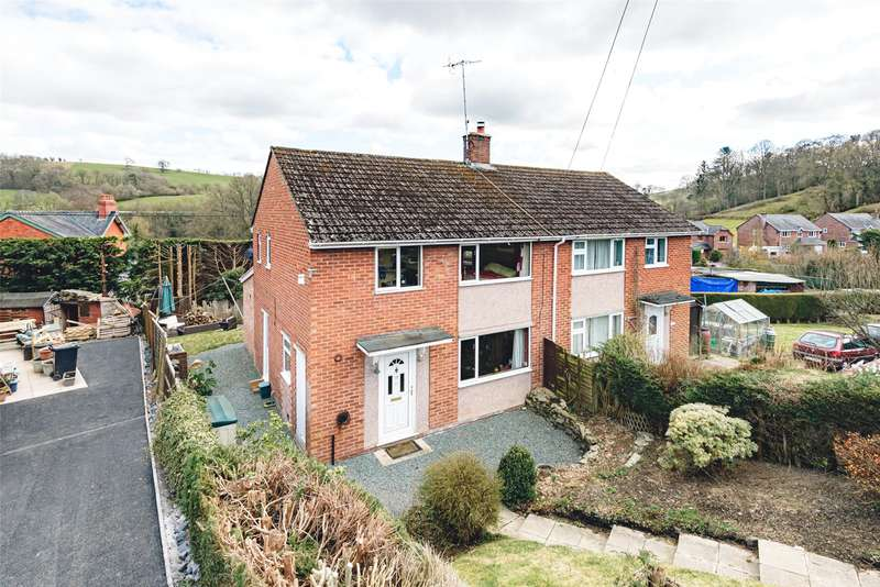 3 Bedrooms Semi Detached House for sale in Bettws Cedewain, Newtown, Powys, SY16 3DU