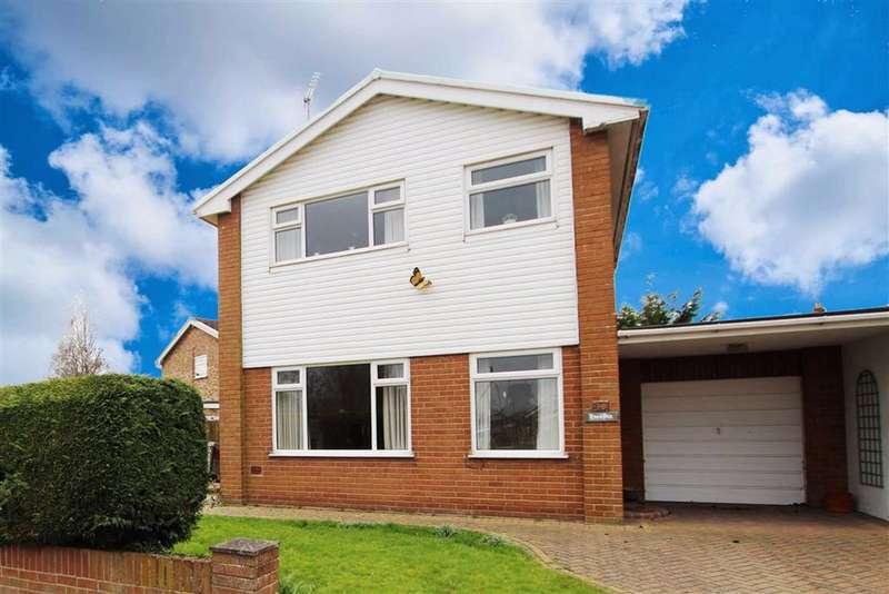 3 Bedrooms Link Detached House for sale in Abbotts Lane, Penyffordd, Flintshire