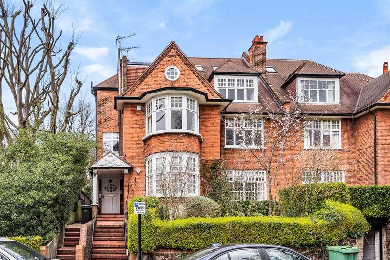 4 Bedrooms Flat for sale in Bracknell Gardens, Hampstead, NW3