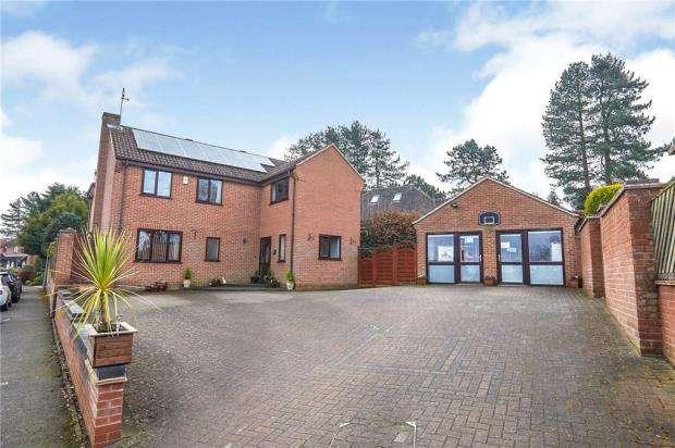 4 Bedrooms Detached House for sale in Dover Beck Close, Ravenshead, Nottingham