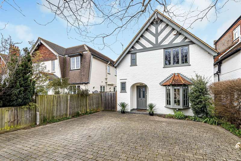3 Bedrooms Detached House for sale in Leigh Road, Cobham, KT11