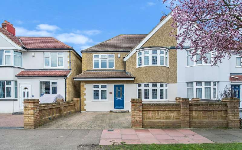 4 Bedrooms Semi Detached House for sale in Oaklands Avenue, Sidcup