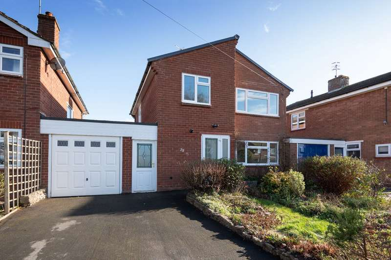 3 Bedrooms Link Detached House for sale in Gerard Road, Alcester, B49