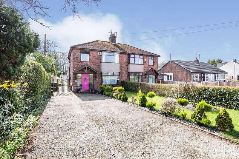 3 Bedrooms Semi Detached House for sale in Hoghton Lane, Higher Walton, Preston, PR5