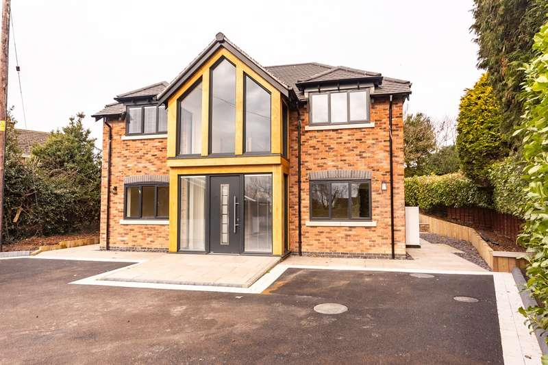 4 Bedrooms Detached House for sale in High Street, Longdon, Rugeley, WS15