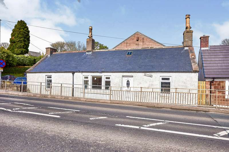 2 Bedrooms Semi Detached Bungalow for sale in Main Street, Kirkconnel, Sanquhar, Dumfries and Galloway, DG4