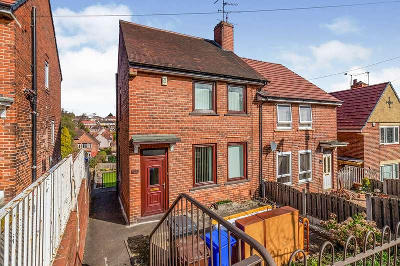2 Bedrooms Semi Detached House for sale in Southey Crescent, Sheffield, South Yorkshire, S5