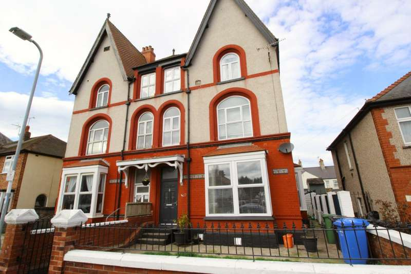 7 Bedrooms Semi Detached House for sale in Seabank Road, Rhyl, Denbighshire, LL18