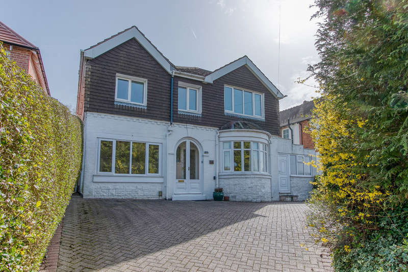 4 Bedrooms Detached House for sale in Birmingham Road, Marlbrook, Bromsgrove, B61 0HS