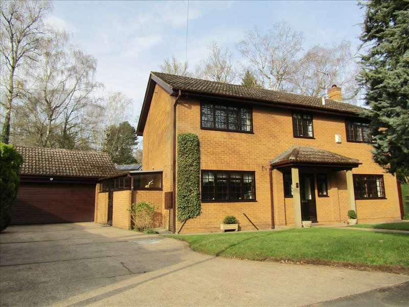 4 Bedrooms Detached House for sale in Conifer Close, Silica Lodge, Scunthorpe