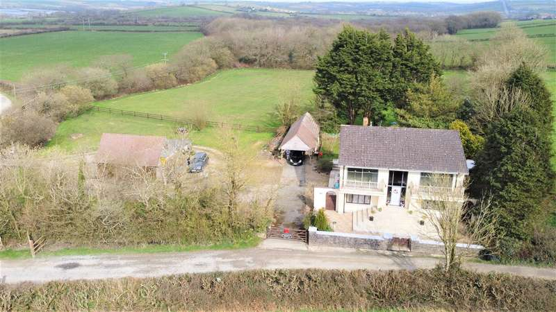4 Bedrooms Detached House for sale in Good Hook Lodge, Narberth Road, Haverfordwest