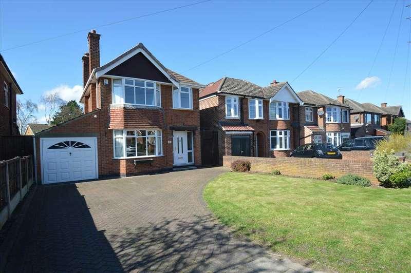 3 Bedrooms Detached House for sale in Greythorn Drive, West Bridgford, Nottingham
