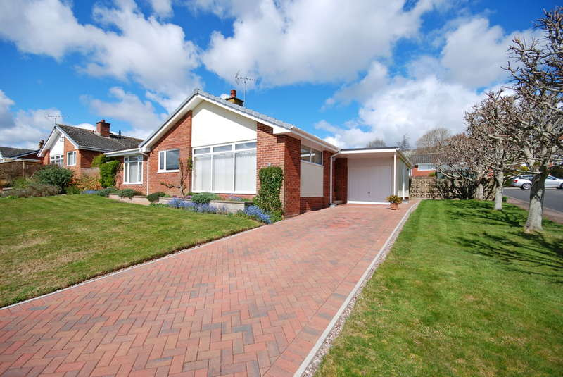 2 Bedrooms Detached Bungalow for sale in Woolbrook Rise, Sidmouth