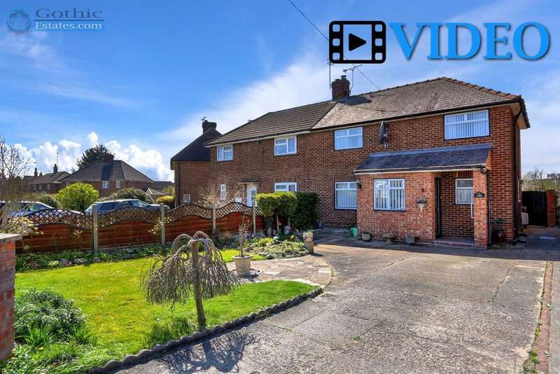 3 Bedrooms Semi Detached House for sale in Hitchin Road, Arlesey, SG15 6SA