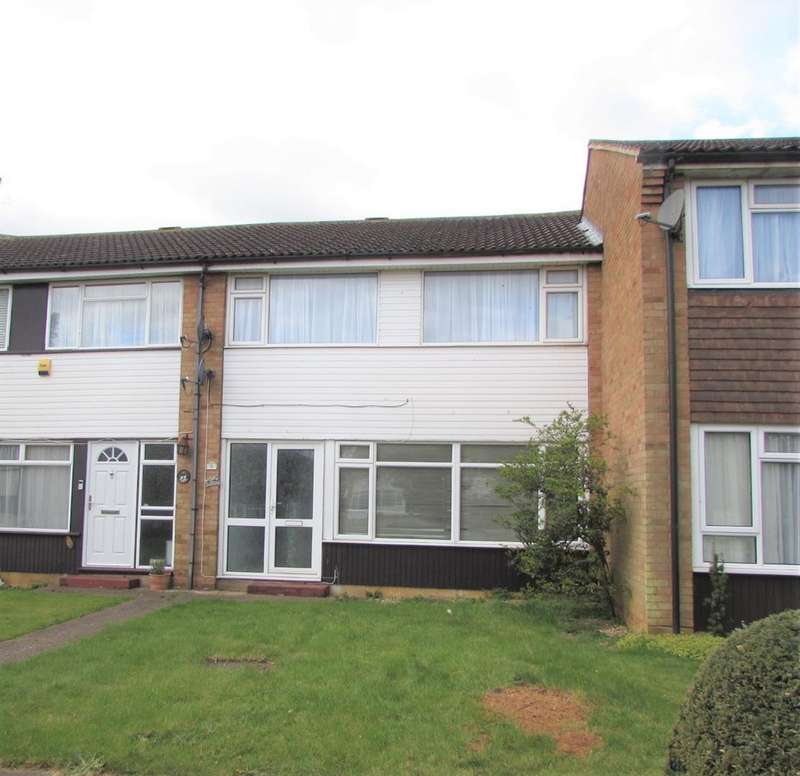 3 Bedrooms Terraced House for sale in The Crescent, Toddington