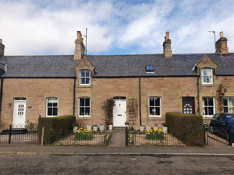 3 Bedrooms Terraced House for sale in 31 Main Street, Swinton, Duns, Scottish Borders