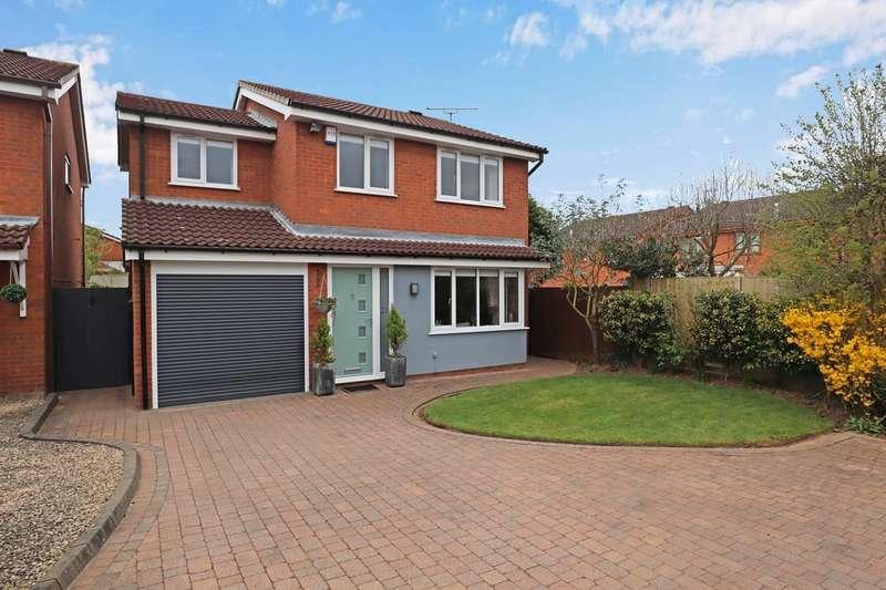 4 Bedrooms Detached House for sale in Penzance Way, Horeston Grange, Nuneaton, CV11