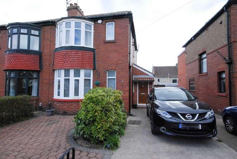 2 Bedrooms Semi Detached House for sale in Lambley Crescent, Hebburn