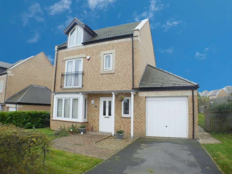 4 Bedrooms Detached House for sale in Beechwood Drive, Prudhoe, NE42