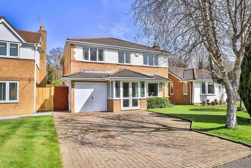 4 Bedrooms Detached House for sale in Rhyd Y Gwern Close, Rudry,, Caerphilly