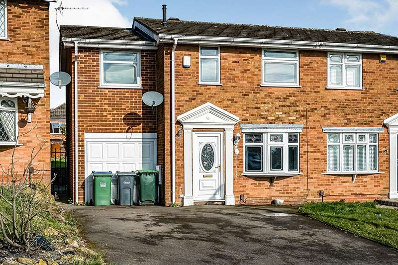 4 Bedrooms Semi Detached House for sale in St. Brades Close, Tividale, Oldbury, West Midlands, B69