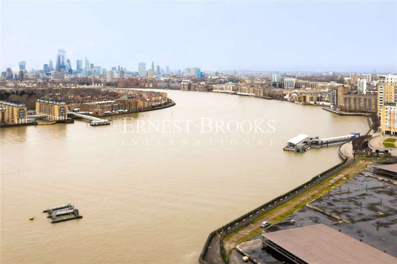 3 Bedrooms Penthouse Flat for sale in Landmark Pinnacle, Canary Wharf, E14
