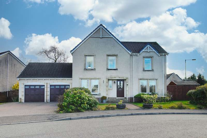 4 Bedrooms Detached House for sale in Millhill Drive, Greenloaning, Dunblane, FK15
