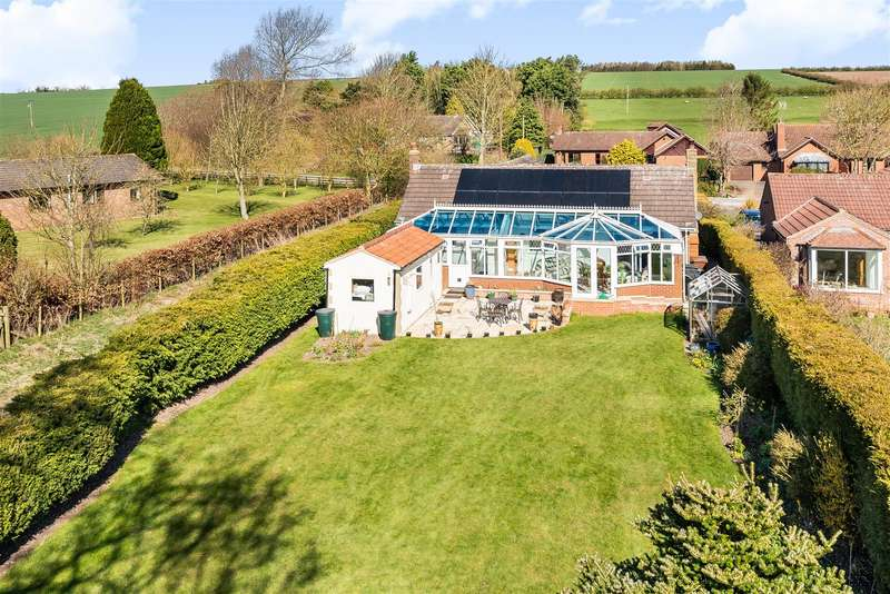 3 Bedrooms Detached Bungalow for sale in The Conifers, East Lutton, Malton, North Yorkshire YO17 8TG