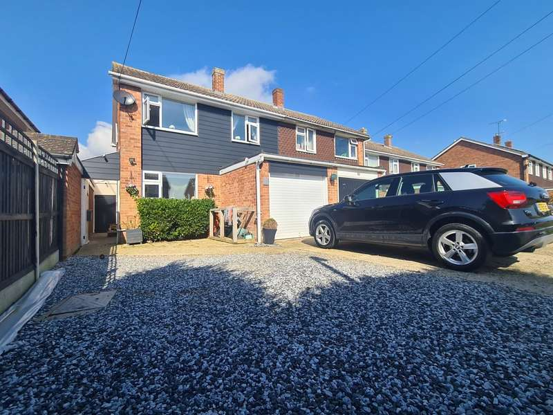 3 Bedrooms Semi Detached House for sale in Bate-dudley Drive, Bradwell-on-sea