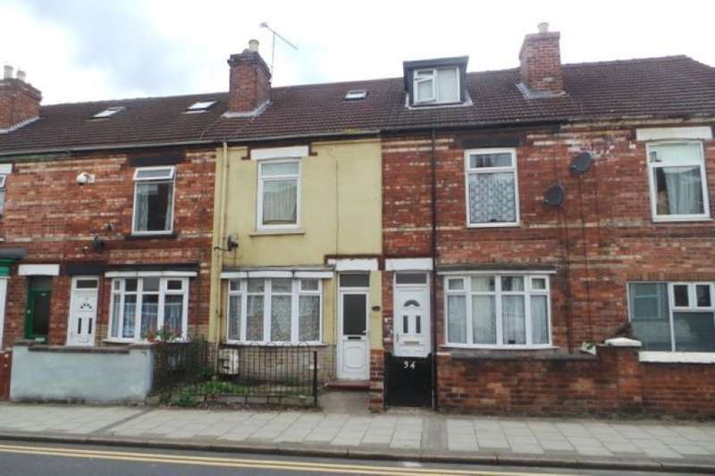2 Bedrooms Terraced House for sale in 36 Gordon Street, Gainsborough, Lincolnshire