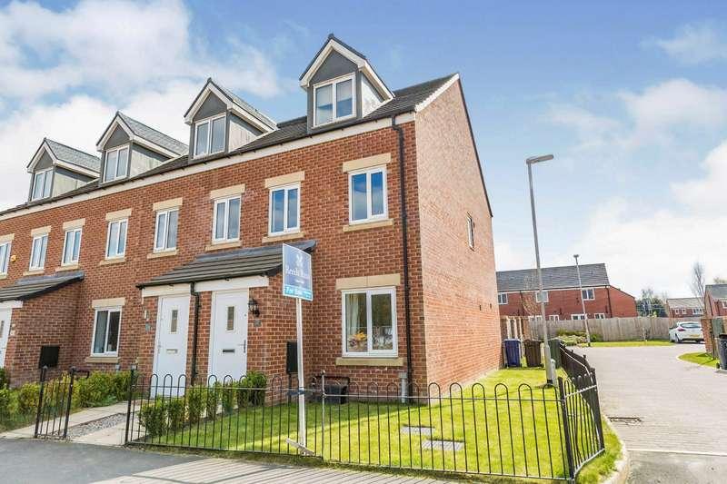 3 Bedrooms End Of Terrace House for sale in Brookwood Way, Buckshaw Village, Chorley, Lancashire, PR7