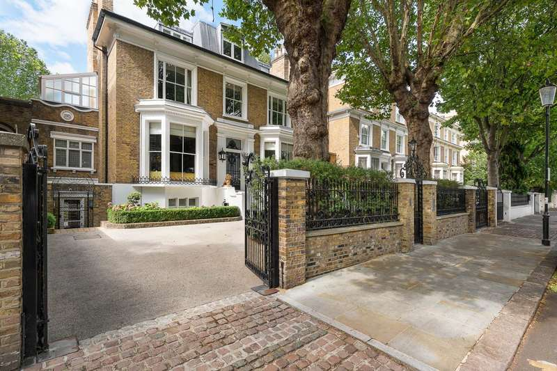 6 Bedrooms Terraced House for sale in Holland Villas Road, Holland Park, London