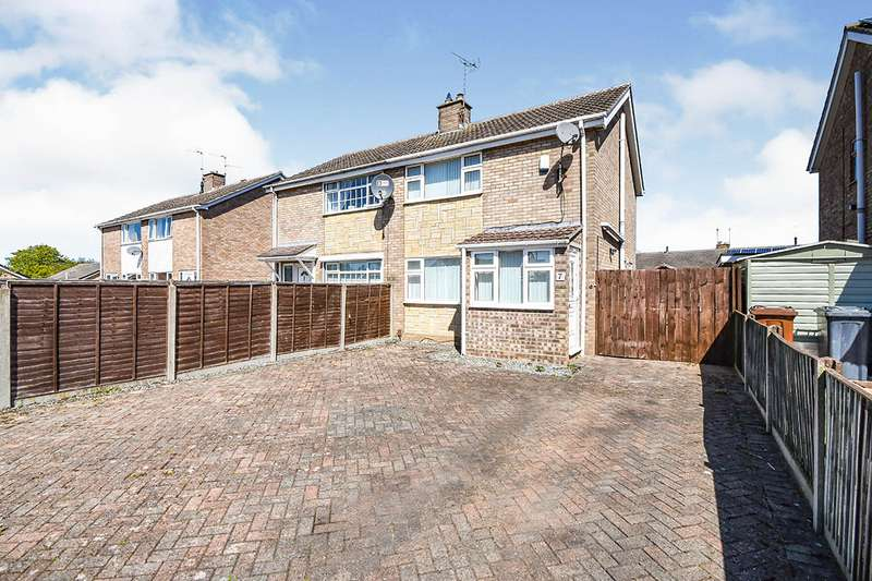 3 Bedrooms Semi Detached House for sale in Carral Close, Lincoln, Lincolnshire, LN5
