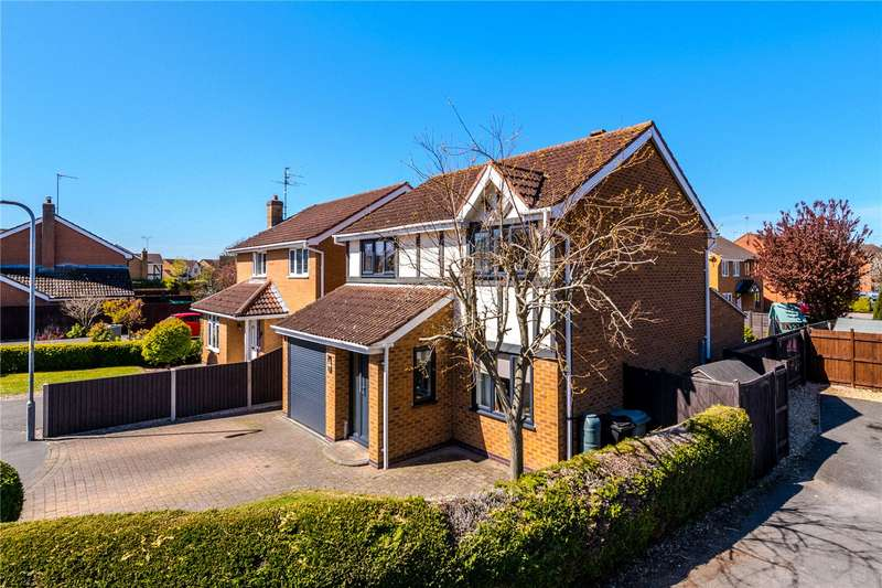 4 Bedrooms Detached House for sale in Brackley Close, Bourne, PE10