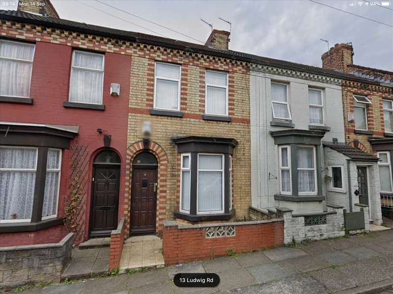3 Bedrooms Terraced House for rent in Ludwig Road 14, Anfield, Liverpool