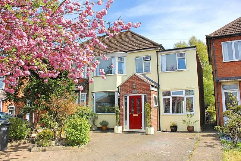 4 Bedrooms Semi Detached House for sale in Oadby Road, Wigston