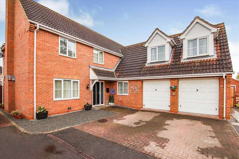 5 Bedrooms Detached House for sale in Dennis Brown Court, Saxilby