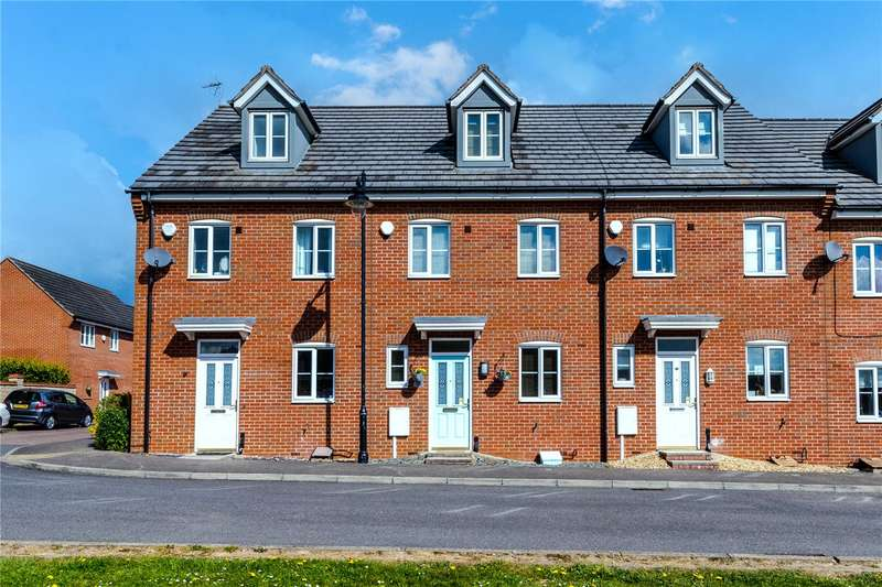 3 Bedrooms Terraced House for sale in Coltsfoot Drive, Bourne, PE10