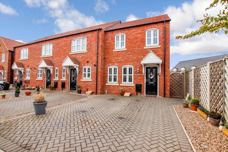 3 Bedrooms Semi Detached House for sale in Rutland Avenue, Waddington