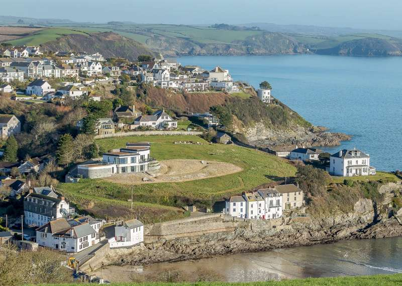 5 Bedrooms Detached House for sale in Portmellon Road, Portmellon, Mevagissey, Cornwall