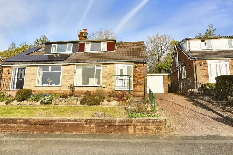 3 Bedrooms Semi Detached House for sale in The Spinney, Scouthead, Saddleworth, OL4