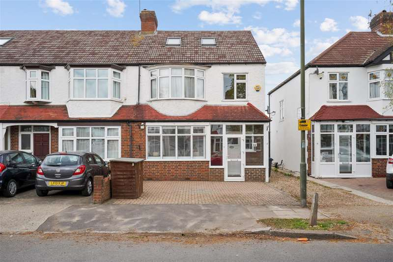 4 Bedrooms End Of Terrace House for sale in Westway, Raynes Park