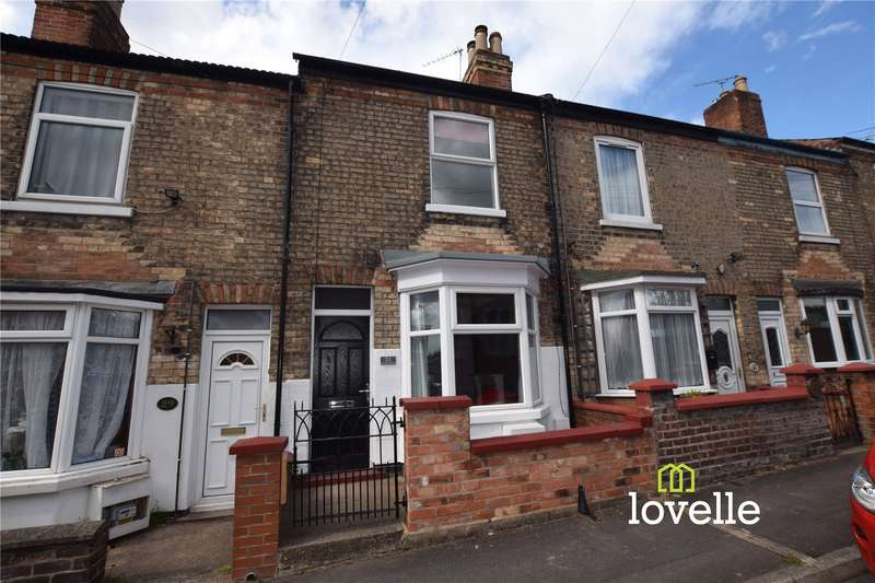2 Bedrooms House for sale in St Johns Terrace, Gainsborough, DN21